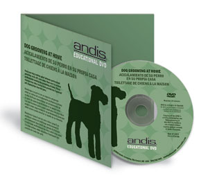 Andis Dog Grooming DVD