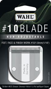 Wahl 10 Blade for the Barvura, Motion, Figura, Arco and Chromado Professional Pet Grooming Clippers