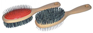 Mars Double Sided Horse and dog brush