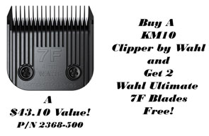 Free Wahl Ultimate 7F with the Purchase of a Wahl KM-10