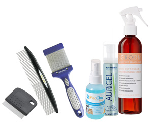 Daily Grooming Maintenance Kit Recommended by Stacy Giordani of No Place Like Home Mobile Pet Spa, Catonsville, MD