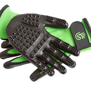 Hands on Gloves in Green
