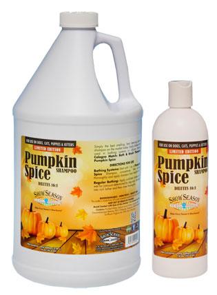 Pumpkin Spice Cat Dog Shampoo