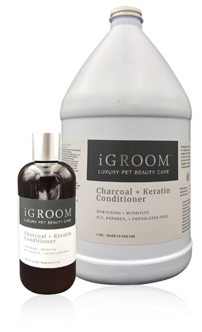 iGroom Charcoal and Keratin Conditioner