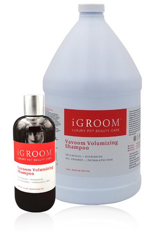 iGroom Vavoom Volumizing Shampoo for dogs and cats
