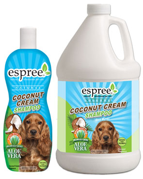 Espree Coconut Cream Shampoo for Pets, dogs and cats