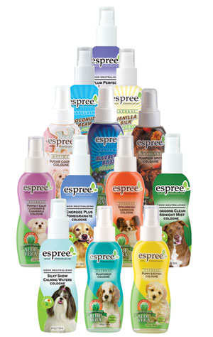 Espree Pet Colgnes for Dogs and Cats