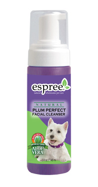 Espree Raineforest and Plum Perfect Foaming Facial Cleansers for Dogs