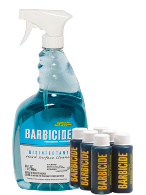 Barbicide Sprayer with 2 oz Bullets